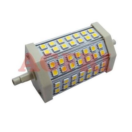LAMPARA LED 10W 230V R7S 714LUM LUZ BLANCO CALIDO 2900-3100K AGFRI 09043