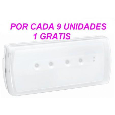 LUZ DE EMERGENCIA LED 100 LUMENES 230V URA21LED LEGRAND 661602 10 UNIDADES