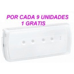 LUZ DE EMERGENCIA LED 100 LUMENES 230V URA21LED LEGRAND 661602