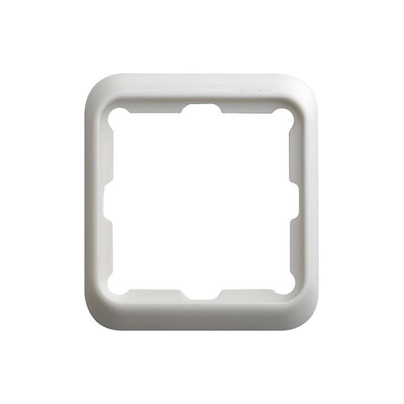 Marco 1 elemento blanco Serie 75 Simon 75610-30