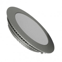 Downlight Led 25w Plata Luz Blanco Calido 2900-3100K Agfri 3316