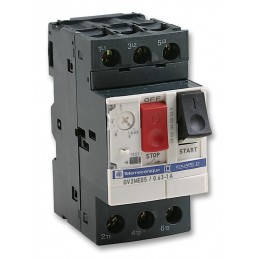 Guardamotor regulable GV2ME05 0,63 a 1 Amp Telemecanique