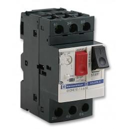 Disyuntor Guardamotor regulable de 4 a 6,3 Amp GV2ME10 Telemecanique Schneider Electric