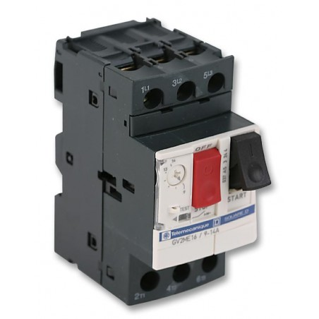 GUARDAMOTOR REGULABLE 9 A 14 Amp GV2-ME16 TELEMECANIQUE
