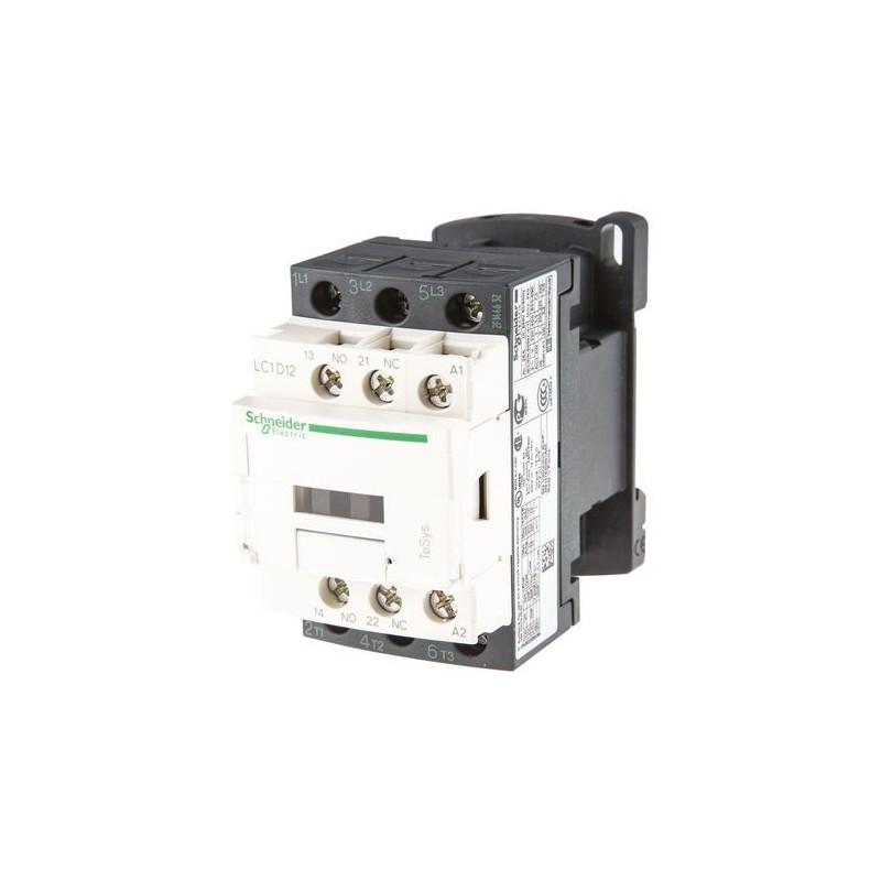 Contactor riel 3 polos 12Amp 1NA 1NC 230V Telemecanique LC1D12P7
