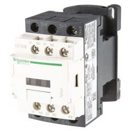 Contactor riel 3 polos 12Amp 1NA 1NC 24V Telemecanique LC1D12B7