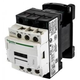 Contactor riel 3 polos 18Amp 1NA 1NC 24V Telemecanique LC1D18B7