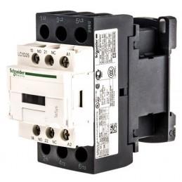 Contactor riel 3 polos 25Amp 1NA 1NC 400V Telemecanique LC1D25V7