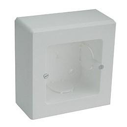 Caja universal de superficie para 1 mecanismo