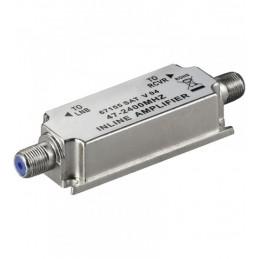 Amplificador señal satelite y MATV 20db interior vivienda