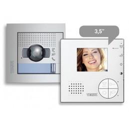Kit Videoportero Color 1 Linea 2 Hilos Classe 100 Tegui 376141