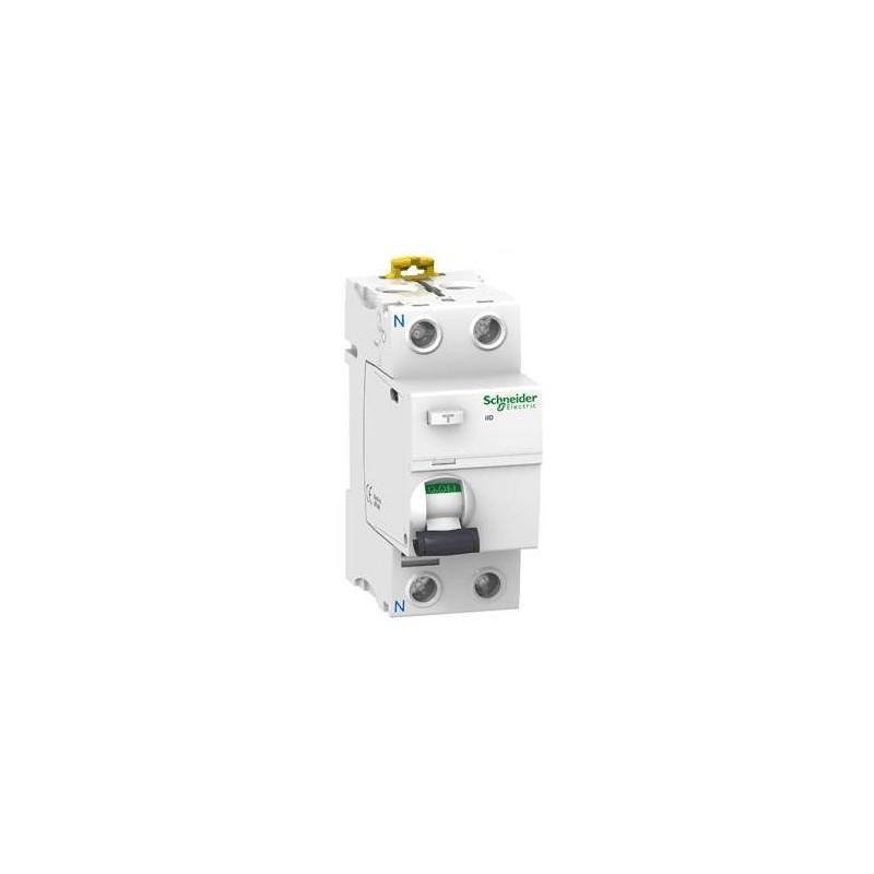 Interruptor Diferencial 2P 25Amp 30mA A9R60225 Schneider Electric