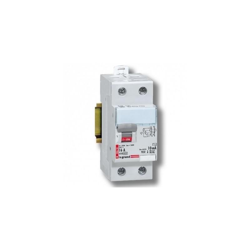 Interruptor Diferencial 2P 16Amp 10mA Legrand 08625