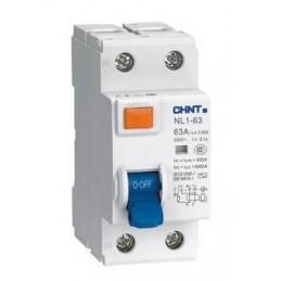 Diferencial 2P 40A 30mA Chint NL1-2-40-30AC
