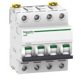 Magnetotermico 4P 10A Curva C 6KA Schneider Electric A9F74410
