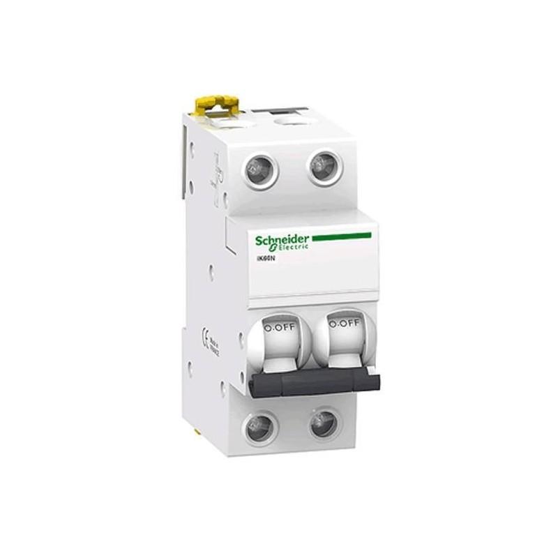 Magnetotermico 1P+N 6A Curva C 6KA A9K17606 Schneider Electric
