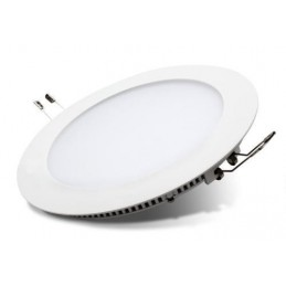 Downlight Led Redondo 20W Aro Blanco Luz Blanco Neutro 4200-4400ºK Bdt-Led DW82012
