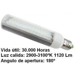 Bombilla led pl E27 7w 230v 180 Grados blanco calido 2900-3100k 1120lm Bdt-Led PL7006