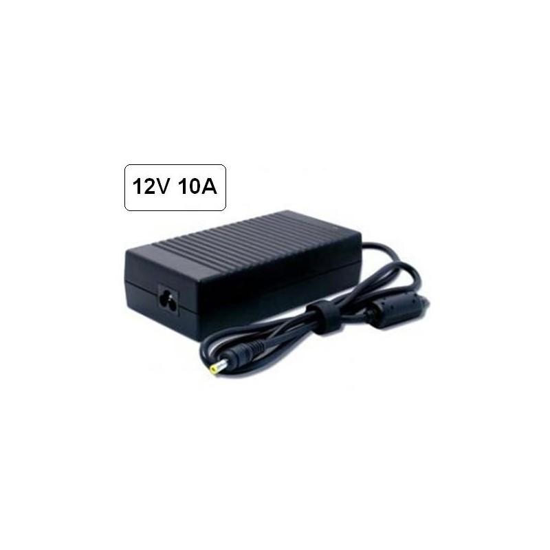Alimentador 12v dc 10a 120w enchufable para tiras led - Alimentador 12v ...