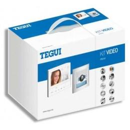 Kit Videoportero color 1 linea 2 hilos manos libres Classe 300V13E Tegui 376161