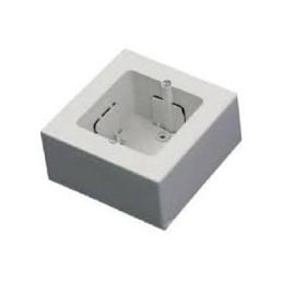 Caja universal superficie para 1 mecanismo ancho o 2 estrechos
