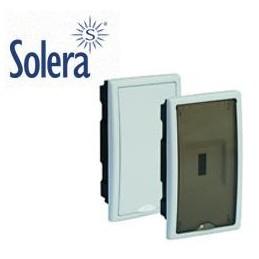 Caja ICP empotrar 4 elementos precintable puerta plena Solera 8208