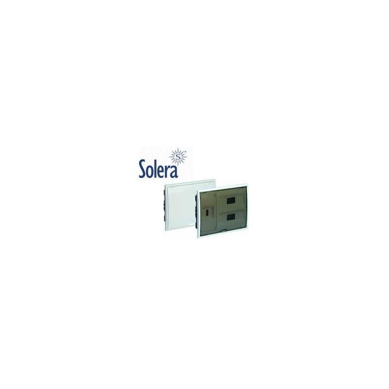Caja automaticos empotrar ICP+24 elementos puerta opaca Solera 8203