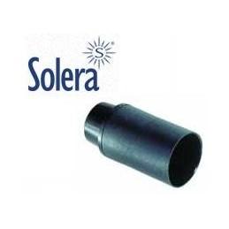 Portalamparas E14 negro liso Solera 6584CLN