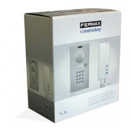Portero automatico 1 linea Memophone vds con teclado Fermax 4982