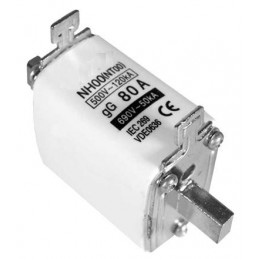 Fusible NH-00 80Amp
