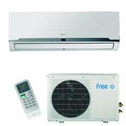 Split Aire Acondicionado 2236/2322 Kcal/h Inverter Clase A+/A FREEO-25DH