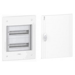 Caja automaticos empotrar 2 filas 26 elementos puerta opaca Schneider Electric