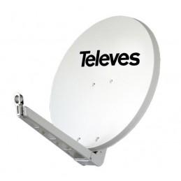 Antena parabolica 75cm OFFSET HQ aluminio Televes 790201