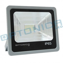 Proyector Exterior Led 100W 100 Grados Luz Blanco Frio 6000K Optonica FL5483