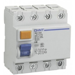 Interruptor Diferencial 4P 40Amp 30mA Chint NL1-4-40-30AC