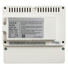 Central audio para placas de superficie Serie 7 Tegui 375000