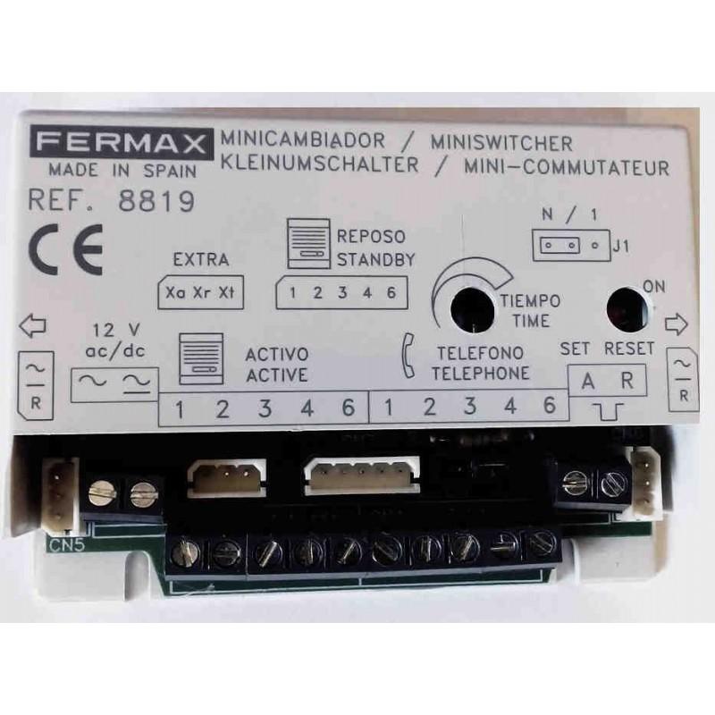 Minicambiador automatico chalet 1 Linea Fermax 8819