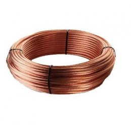 Cable de cobre desnudo 1x35mm2 Rollo 82 Metros 25 Kilos