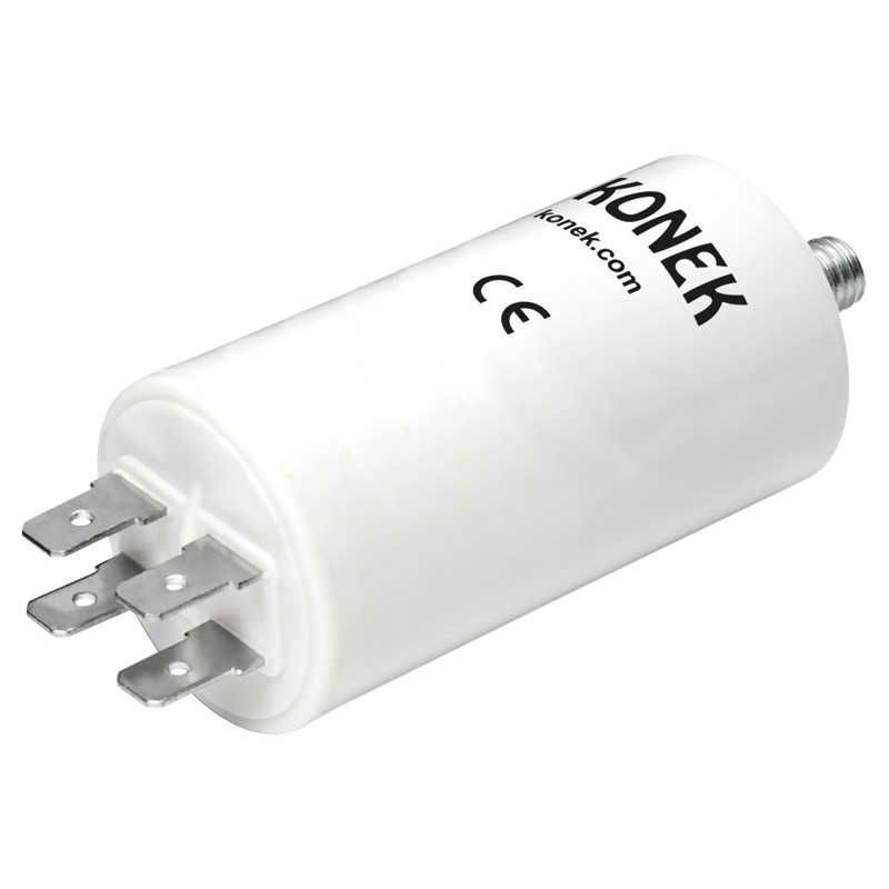 Condensador arranque motor monofasico 450V AC 20uF faston