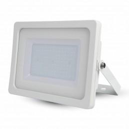 Proyector LED Slim 100W Blanco Luz Blanco Frio 6400K 8500Lm