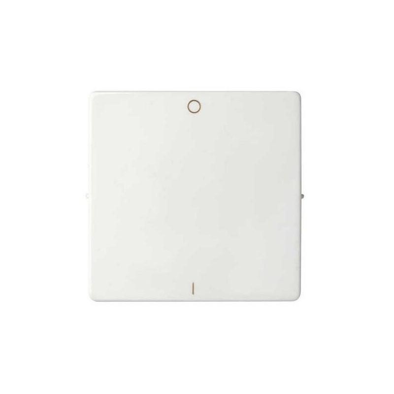 Tecla interruptor bipolar ancha blanca Serie 82 Simon 82031-30