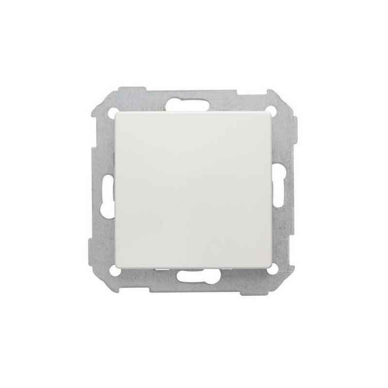 Tapa ciega ancha blanca Serie 82 Simon 82800-30