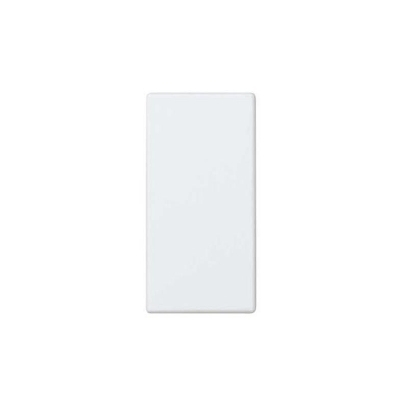 Tapa ciega estrecha blanca Simon 27800-34