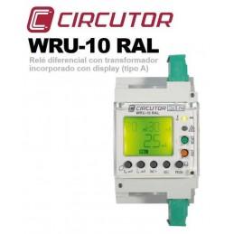 Relé Diferencial Rearme Automático 0.03/3Amp WRU-10 RAL Circutor P24453