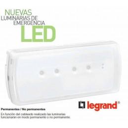 Emergencia Led URA21LED 200 Lumenes Permanente y No Permanente Legrand 661606