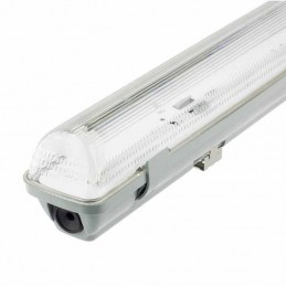 Pantalla estanca vacia IP65 para un tubo LED 600mm Ecolux EC3640