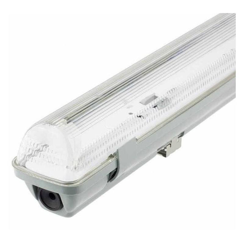 Pantalla estanca vacia IP65 para un tubo LED 1200mm Ecolux EC3641