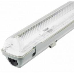 Pantalla estanca vacia IP65 para un tubo LED 1500mm Ecolux EC3642
