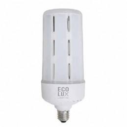 Bombilla Led Vial 50W 230V E27 5300Lm IP40 Luz Blanco Frio Ecolux EC3357