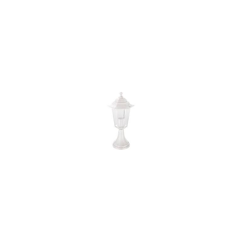 Aplique Sobremuro Hexagonal E27 Max.100w Blanco